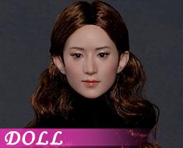 DL3483 1/6 亞洲美女頭雕 A (人偶)