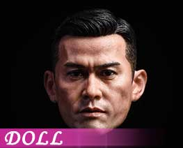 DL1750 1/6 Asian male head carving (DOLL)