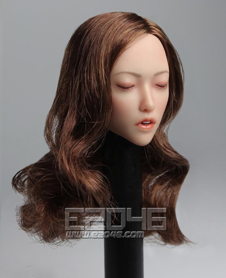 Sexy Lady Head Sculpt C (Doll)