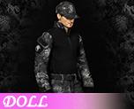 DL0871 1/6 Python camouflage combat suit (Doll)
