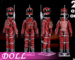 DL4361 1/6 Spacesuit A (DOLL)
