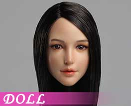 DL1548 1/6 Female head carvings C (DOLL)