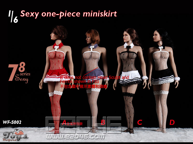 Sexy One-Piece Miniskirt E (DOLL)