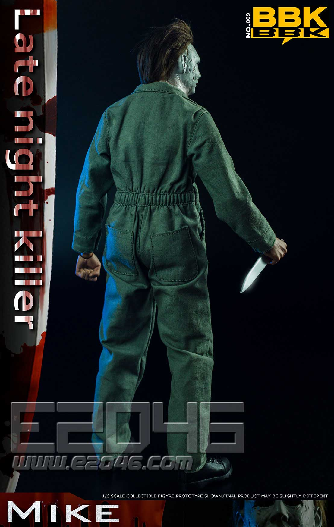 Halloween Killer Mike (DOLL)