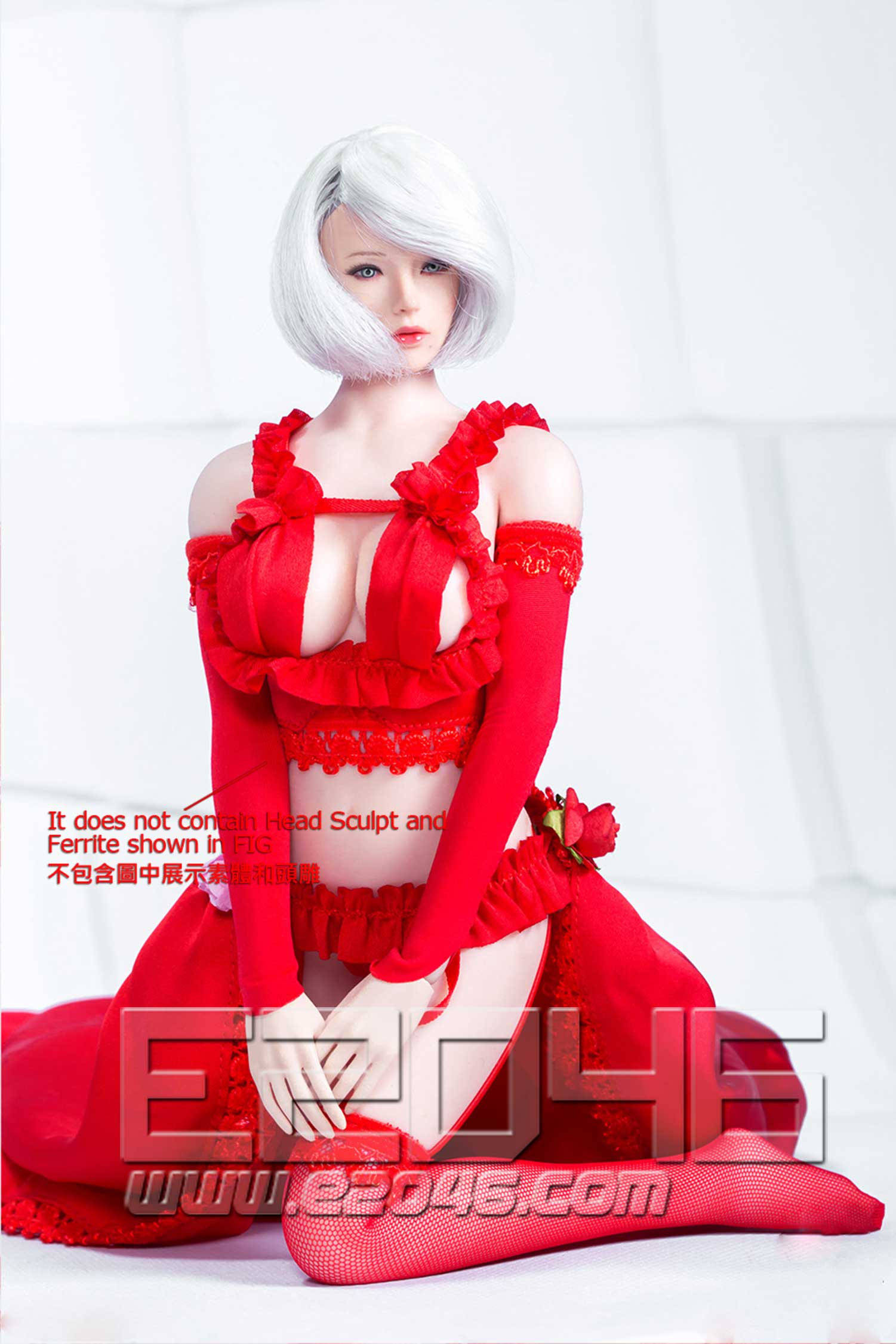 Two-dimensional sexy flower wedding suit B (DOLL)