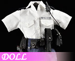 DL0460 1/6 Female summer police uniforms suit D1 (Doll)