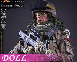 DL2256 1/6 Desert Wolf (DOLL)