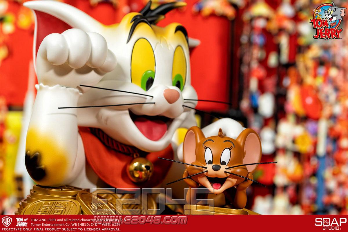 猫和老鼠招财猫特别版 (人偶)