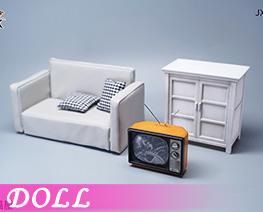 DL4988 1/6 Living Room Scene (DOLL)