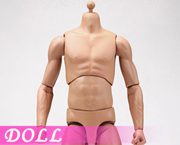 DL3436 1/6 Super Sportsmans Body Blaek Skin Color (DOLL)
