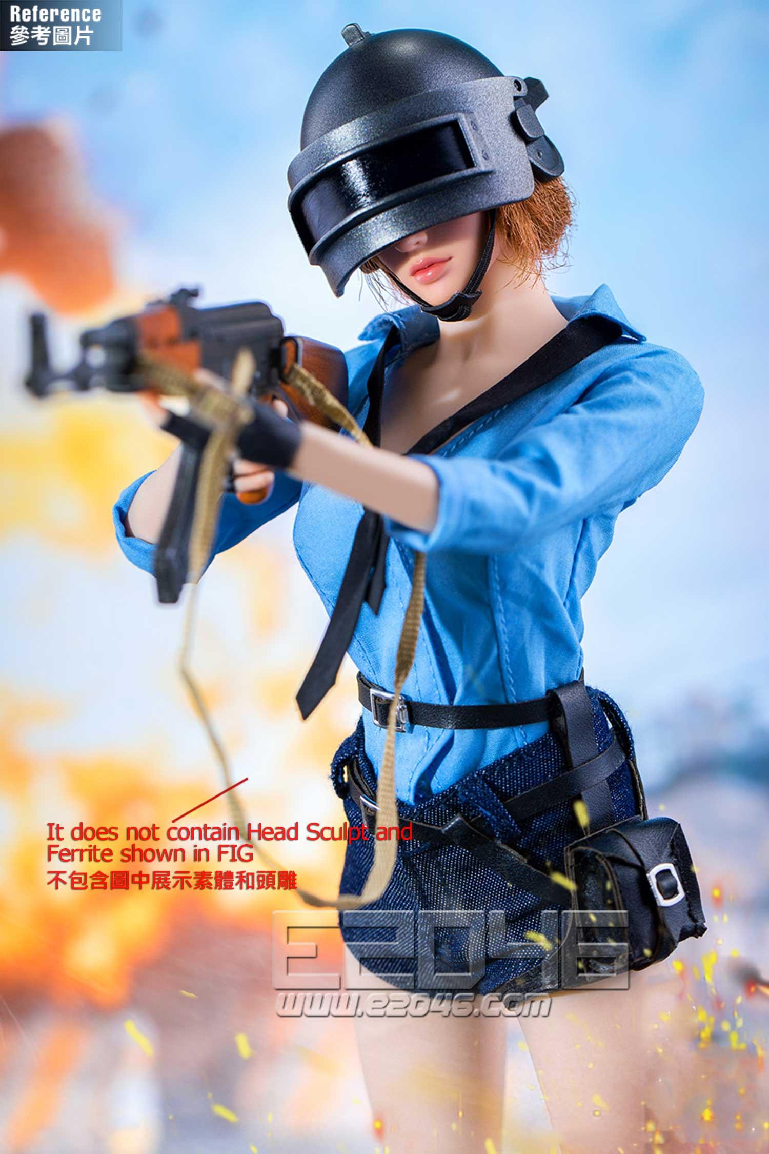 Chicken Dinner Female Combat Suit C (DOLL)