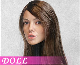 DL3366 1/6 Hair Transplant Female Head E (DOLL)