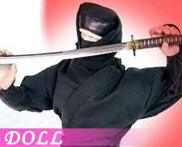 DL2752 1/6 Ninja Suit Black (DOLL)