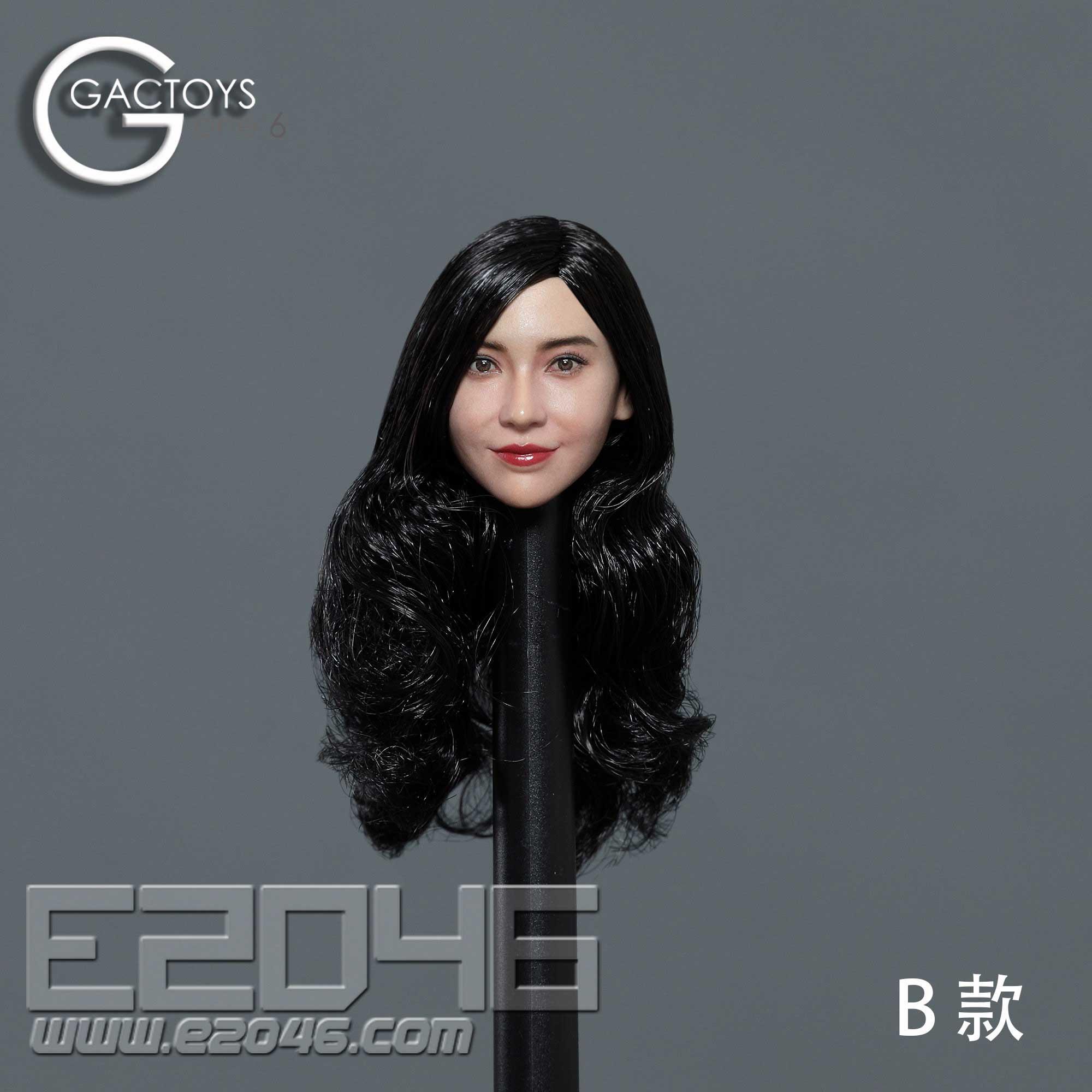 Asian Beauty Head Sculpture B (DOLL)