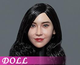 DL4990 1/6 Asian Beauty Head Sculpture B (DOLL)
