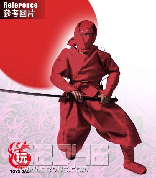 Ninja Suit Red (DOLL)