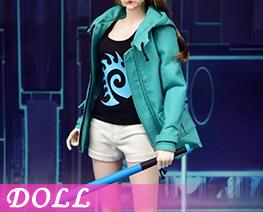 DL4046 1/6 女明星服飾套裝 (人偶)