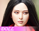 DL0498 1/6 Elsa Head Carved (Doll)