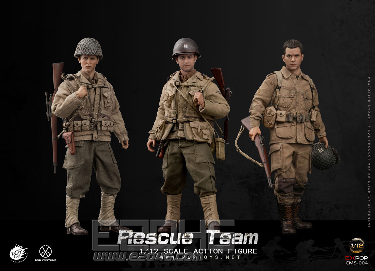 WWII US Rescue Squad (DOLL)