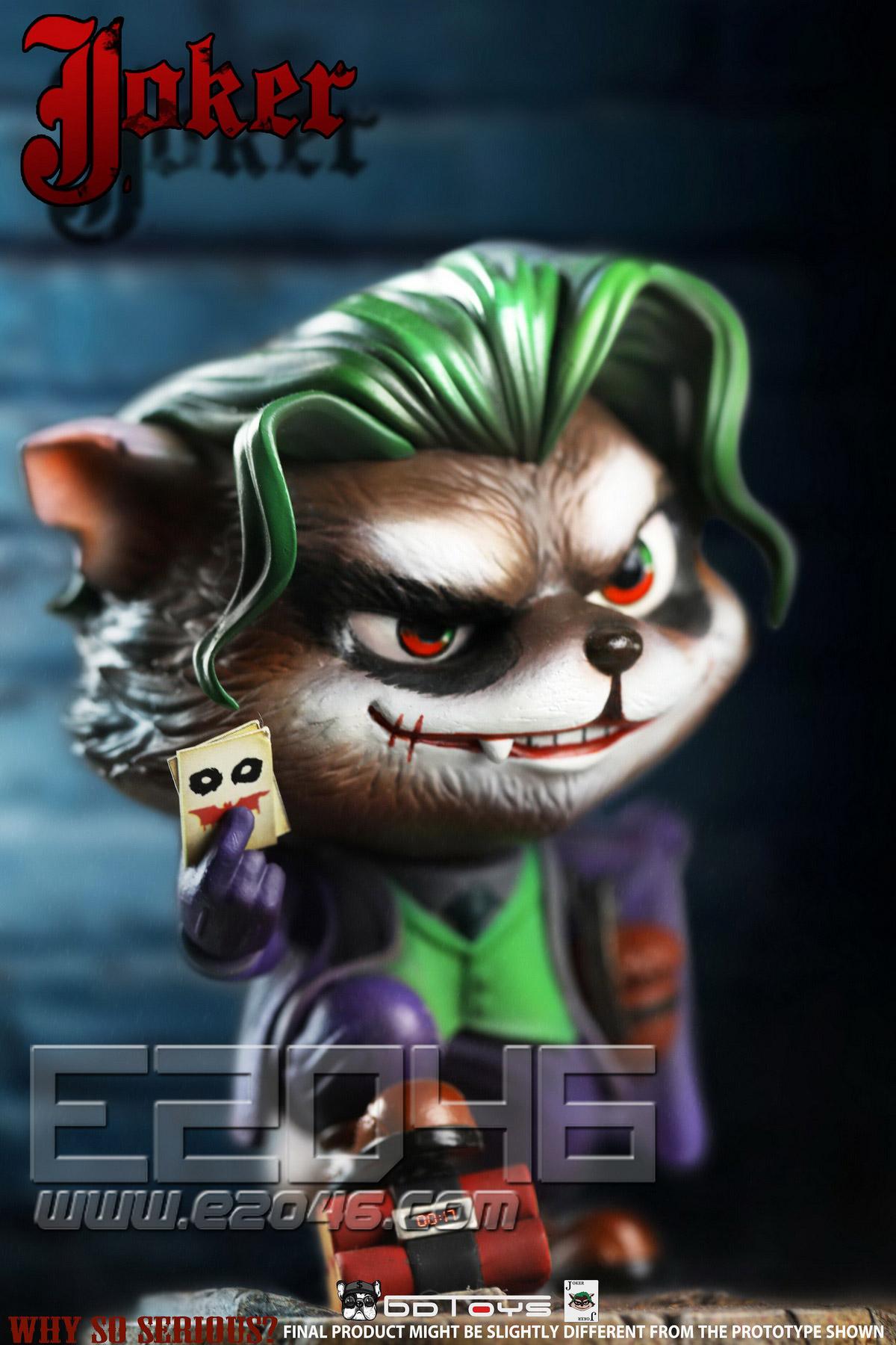 Raccoon Clown (DOLL)