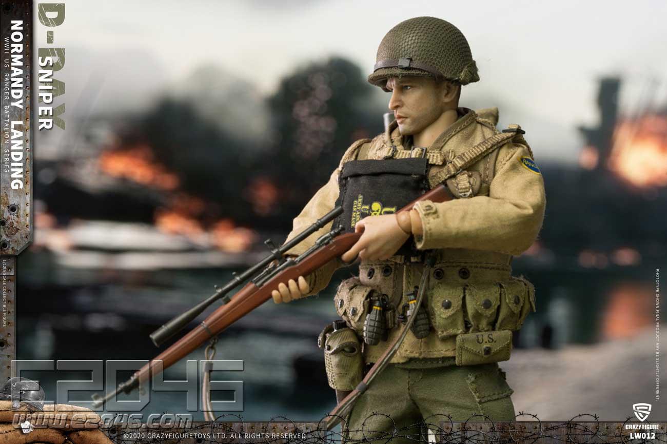 U.S. Sniper Of World War II (DOLL)