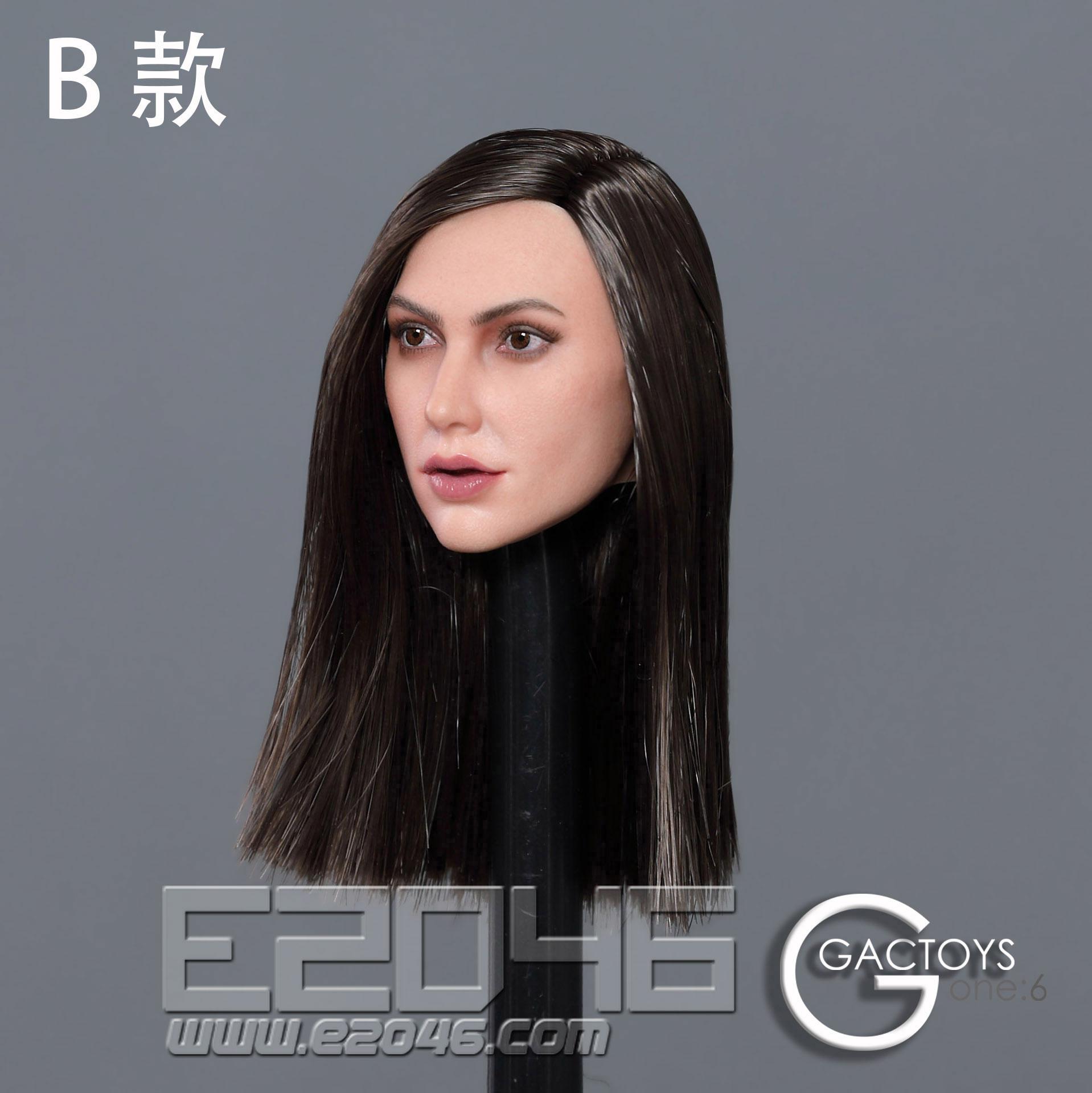 Head Carving B (DOLL)
