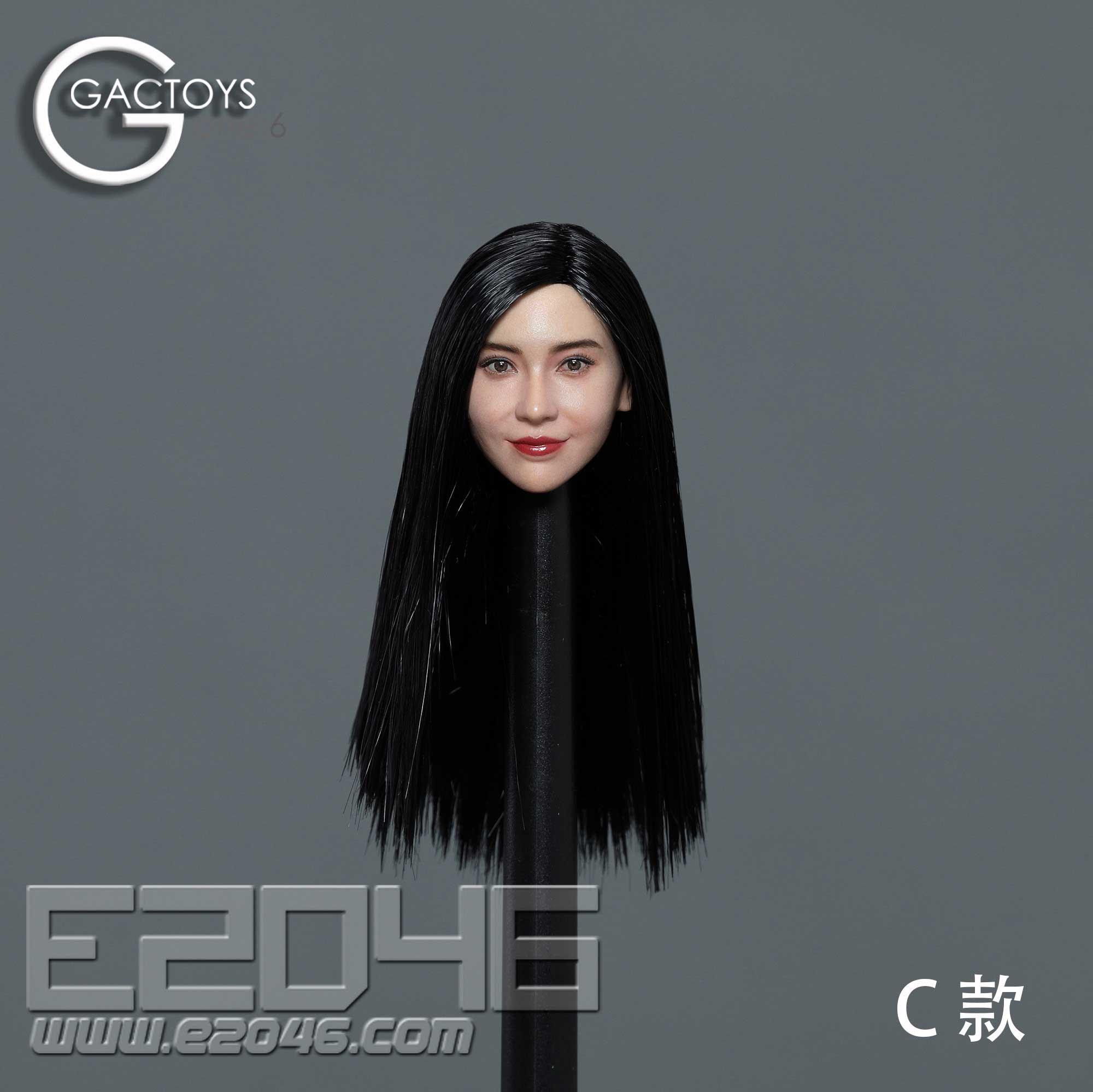 Asian Beauty Head Sculpture C (DOLL)