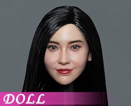 DL4991 1/6 Asian Beauty Head Sculpture C (DOLL)