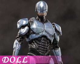 DL3182 1/18 Robot Men 2014 Silver Version (DOLL)