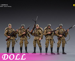 DL4425 1/18 Soviet Army Infantry (DOLL)