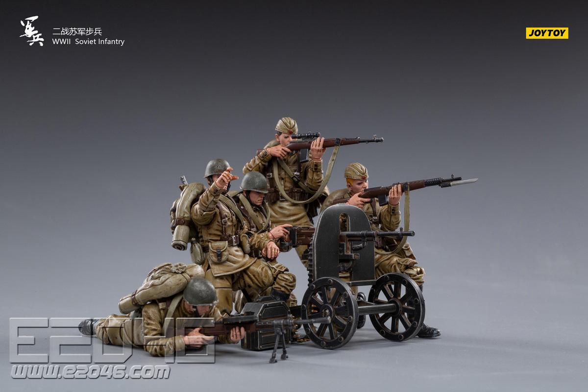 二战苏军步兵 (人偶)