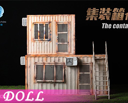 DL4560 1/12 Container Cabin F (DOLL)