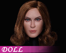 DL3123 1/6 European And American Expression Female Head D (DOLL)