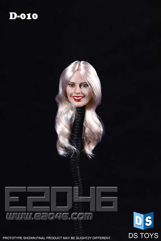 European Female Hair Head (DOLL)