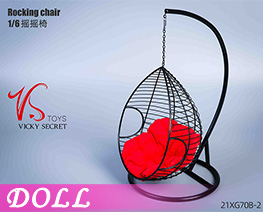 DL4535 1/6 Big Rocking Chair B (DOLL)
