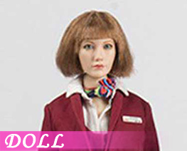 DL3878 1/6 Chinese Flight Attendant Uniform Set A (DOLL)