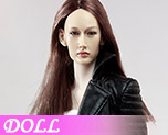 DL0476 1/6 The Nikita female agents leather coat suit A (Doll)