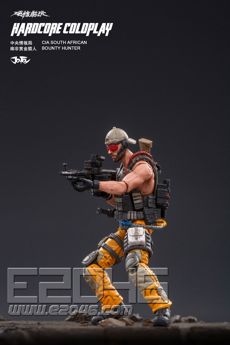 Central Intelligence Agency South African Bounty Hunter (DOLL)