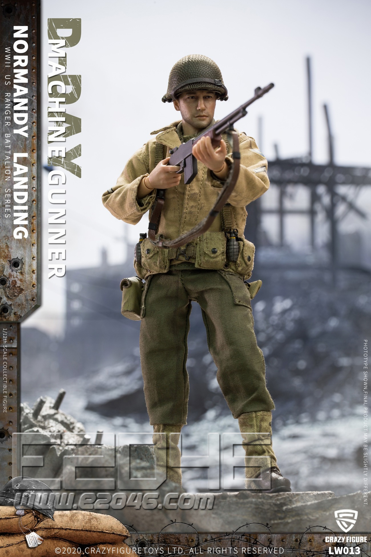 US Army Machine Gunners Of World War II (DOLL)