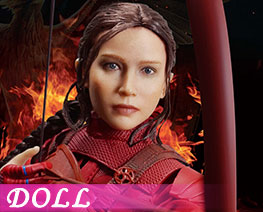 DL1898 1/6 Katniss Everdeen 2.0 Red Armor Version (DOLL)