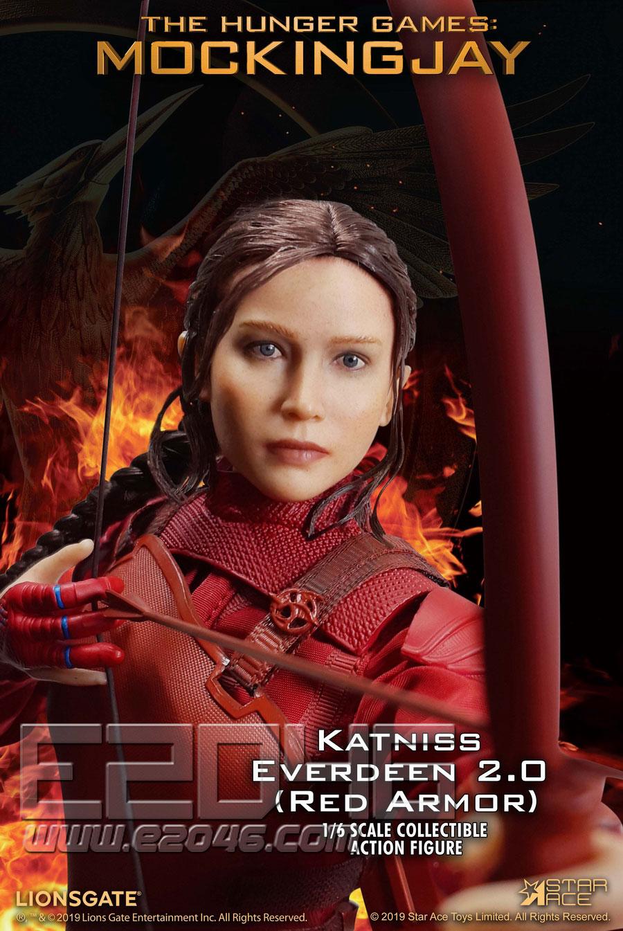 凯特尼斯2.0红衣版 (人偶)