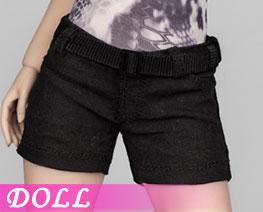 DL3164 1/6 Female Shorts Black Version (DOLL)
