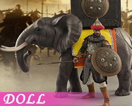 DL3127 1/6 Elephant Chariot (DOLL)