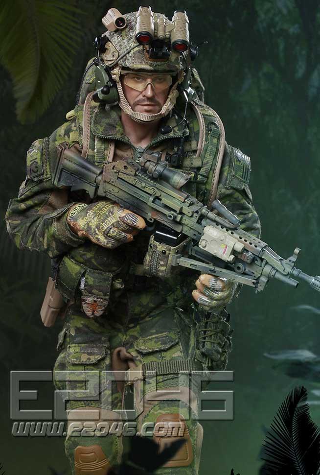 Jungle Dagger Action (DOLL)