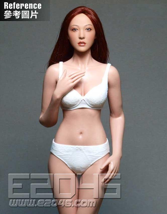 Asian Beauty Head Carving A (DOLL)