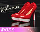 DL0580 1/6 Women's High Heel Shoes D (Doll)
