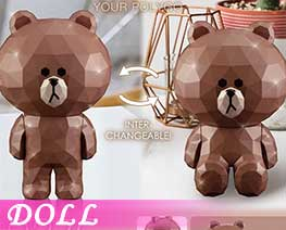 DL2732  Brown Full Version (DOLL)