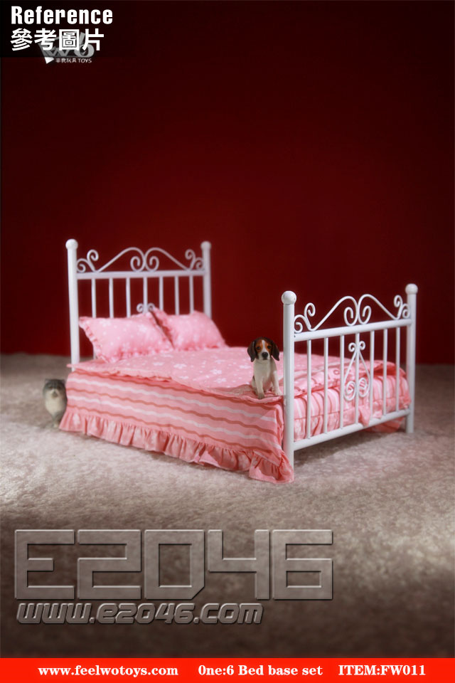 Metal Bed Base Set A (DOLL)