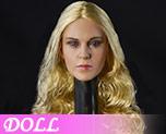 DL0727 1/6 Blonde female head (Doll)