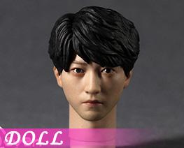 DL5046 1/6 Asian Male Head Sculpture B (DOLL)